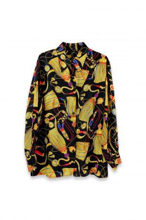 Camicia Seta stoffa di Renato Balestra Sartoriale Unico